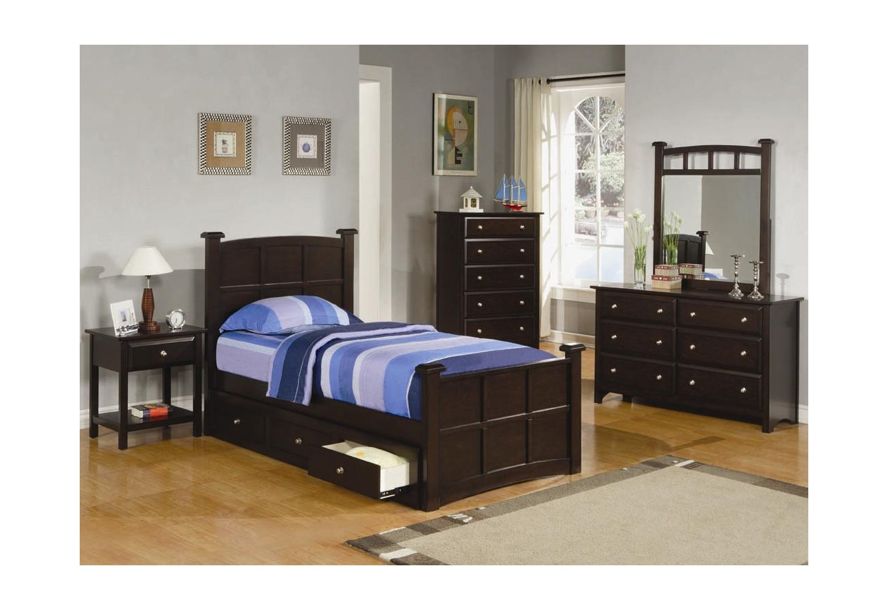 coaster youth storage bed with drawersjasper collection  -  coaster youth storage bed with drawersjasper collection