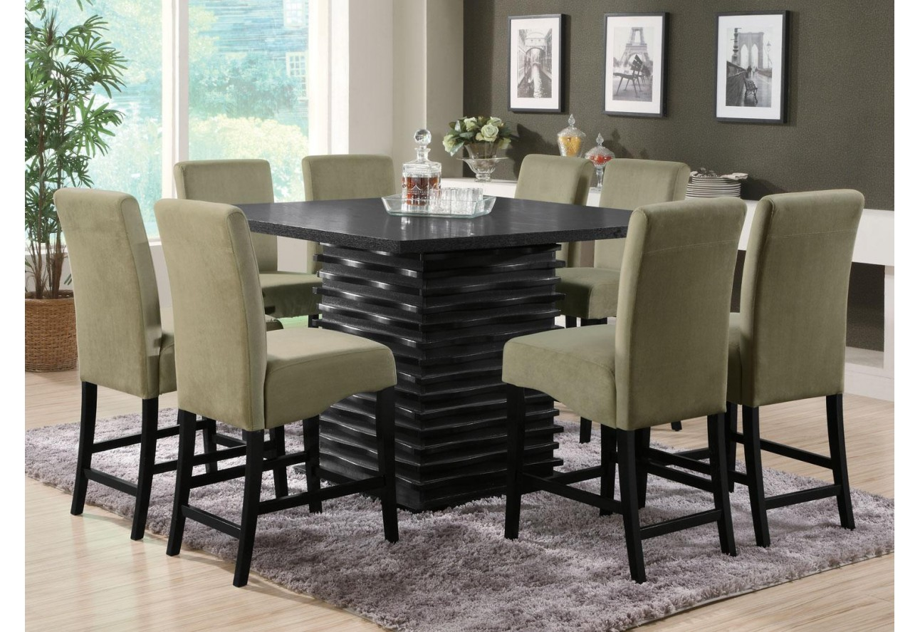coaster counter height dining set  the mansion furniture - coaster counter height dining set