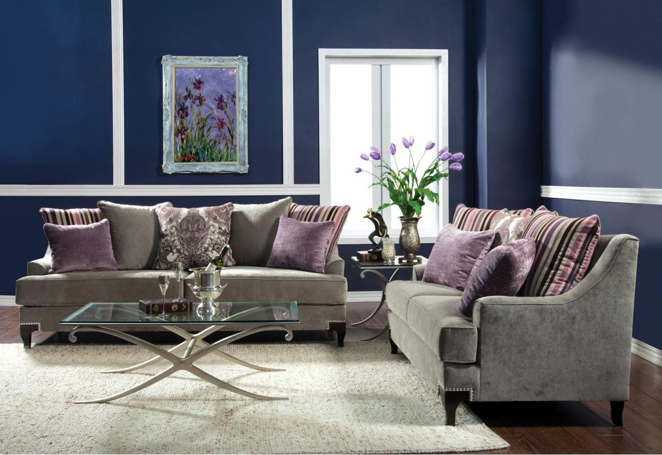SM2202 Furniture of America Viscontti Living room Vintage Taupe