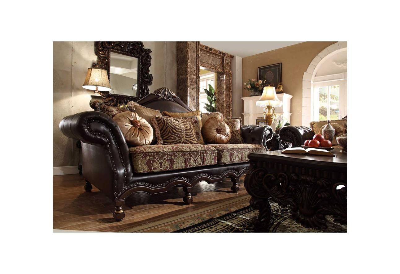 HD 3280 Homey Design upholstered living room set Victorian  European    Classic design Sofa. Homey Design upholstery living room set Victorian  European