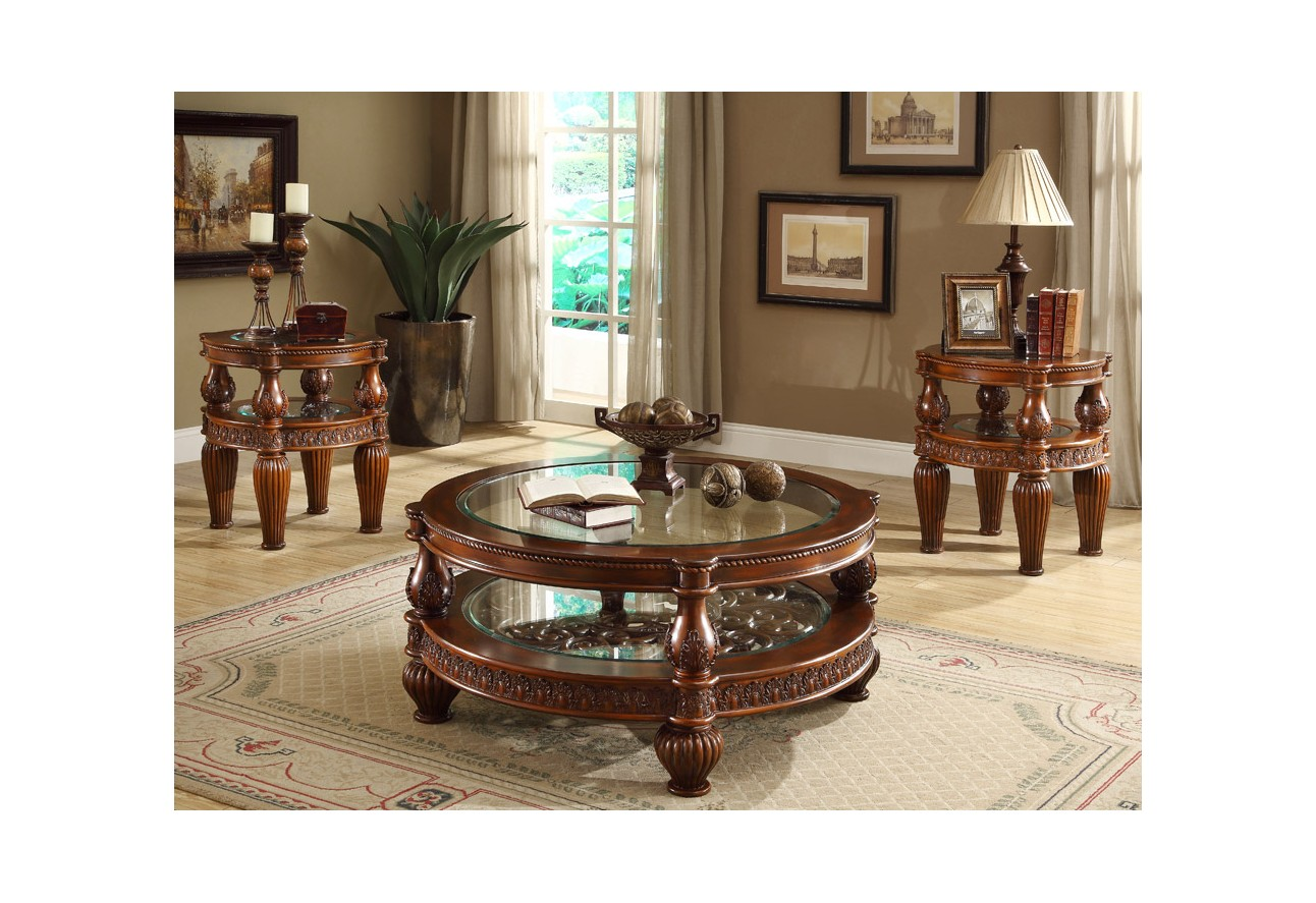 Hd 481 Homey Design Living Room Set Victorian European Classic Design