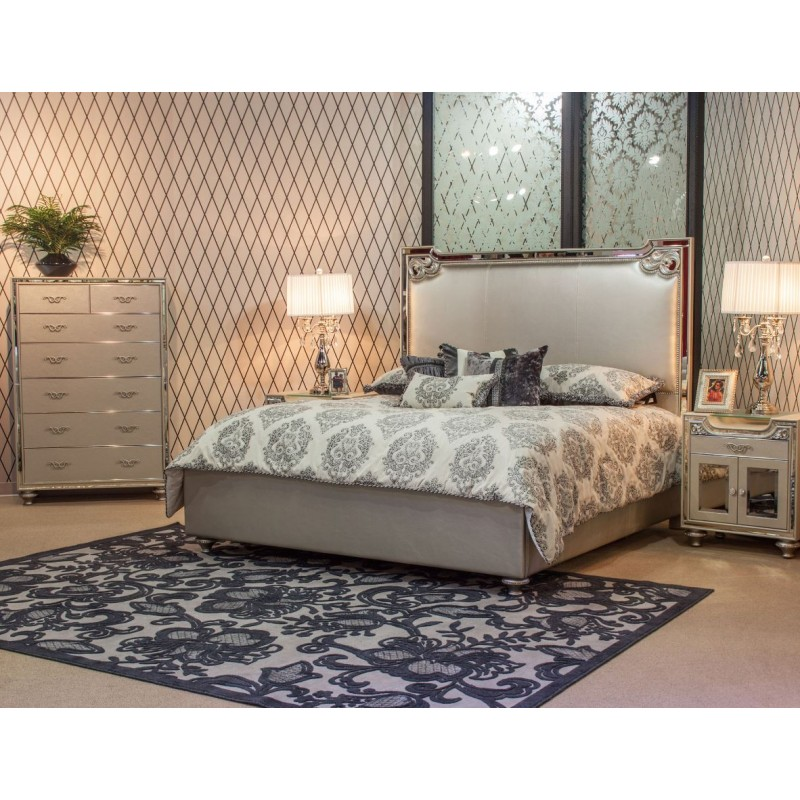Aico Bel Air Park Bedroom Set Collection by Michael Amini