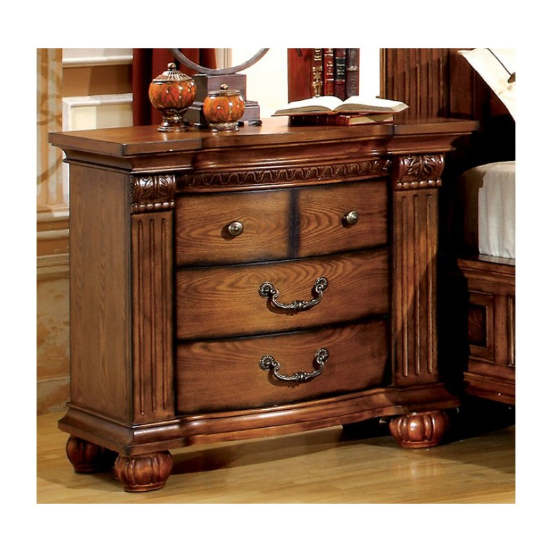 import furniture of america traditional bedroom set