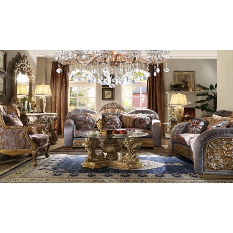 Sala De Estar Estilo Frances ~ HD 1302 Homey Design Juego de sala estilo Victoriano Clasico Frances