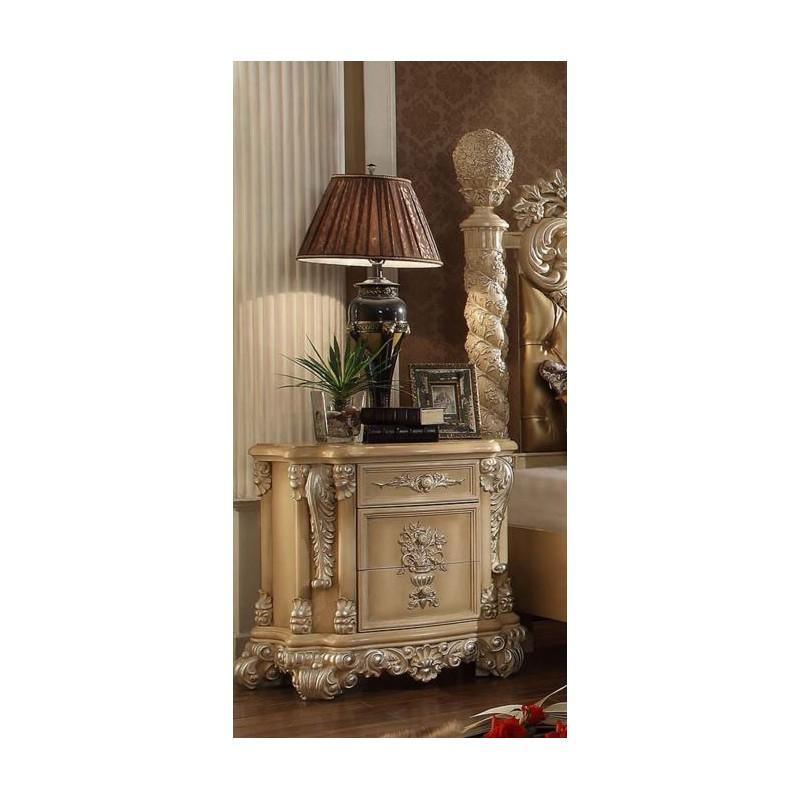 7266 Homey Design Juego de recamara estilo victoriano clasico frances