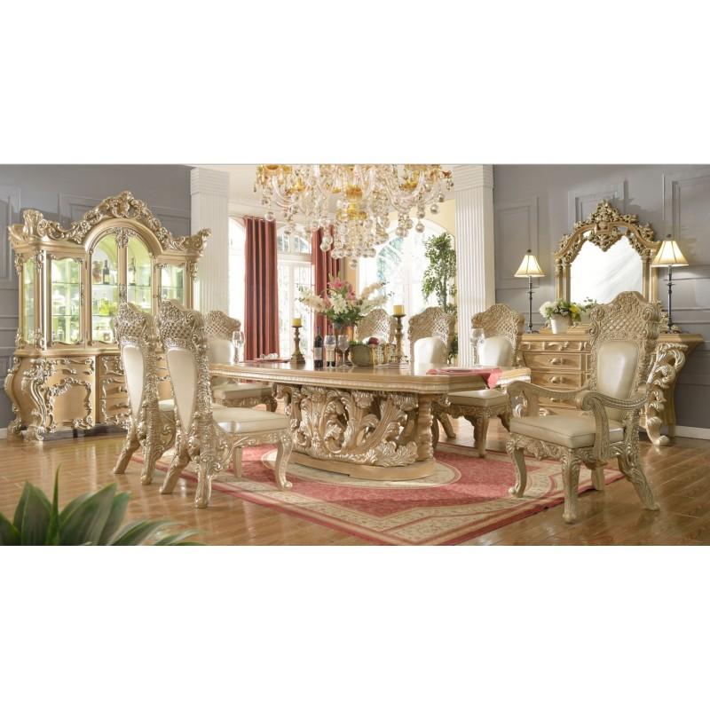 Attractive HD 7012 Dining Set Homey Design Victorian, European U0026 Classic Design ...