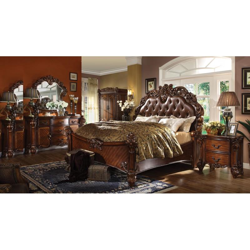 bedroom 22000 acme vendome colection bedroom set in cherry