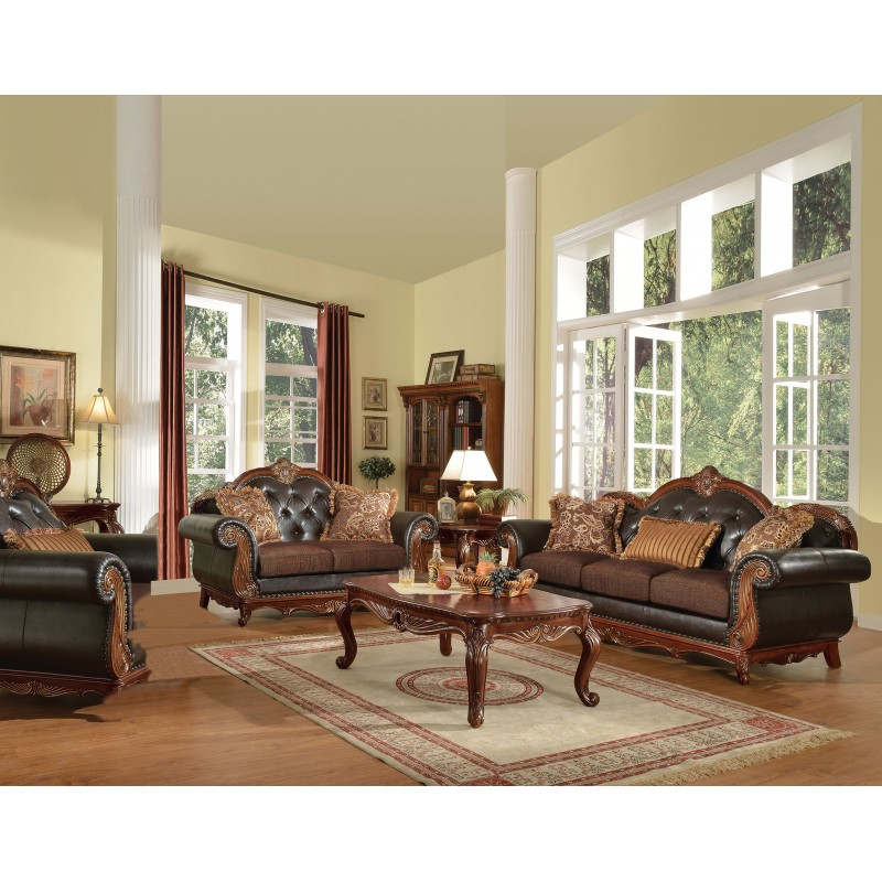 Acme 51590 Dorothea Living room Collection Cherry