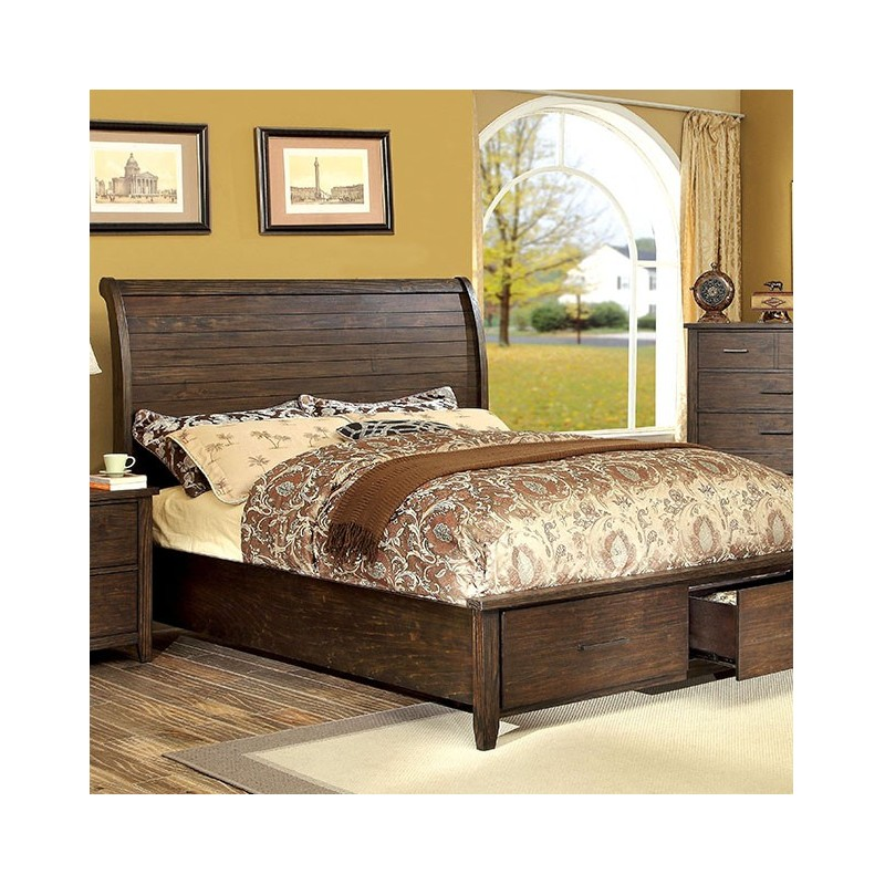 bedroom cm7252 furniture of america bedroom set ribeira dark walnut