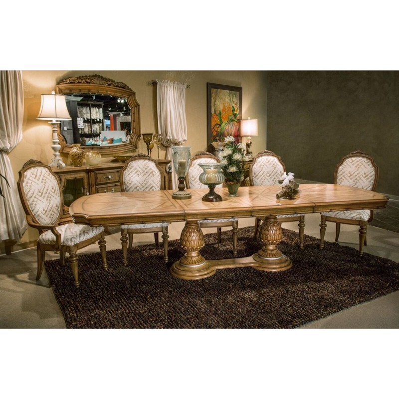 Aico Excursions Dining Set By Michael Amini