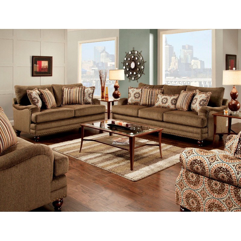 Brown Living Room Set - Home Design Ideas and Pictures
