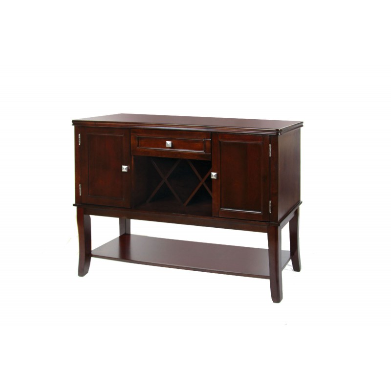 Counter Height Entertainment Center : ... Height > CM3336 Import Furniture of America Edgewood II Counter Height