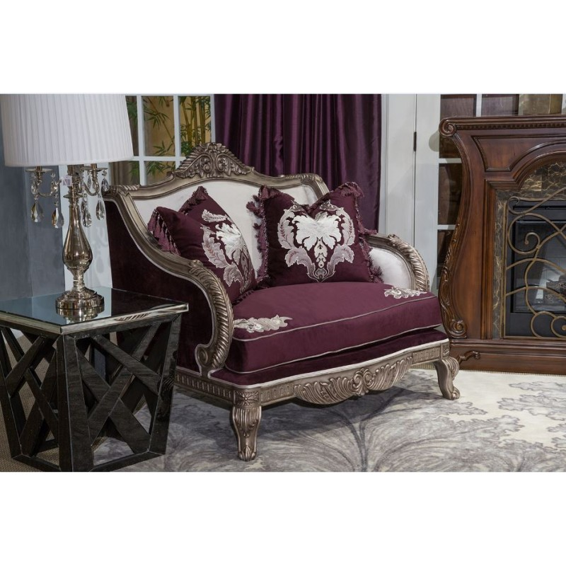 Freestanding Collection Lisette Living Room Set by Michael Amini