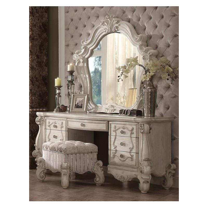 21760 Acme Bedroom Set Versailles Collection Bone White Finish. Acme Bedroom Set Versailles Collection Bone White Finish