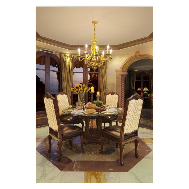 dining rooms aico victoria palace collection 5 pc round dining set