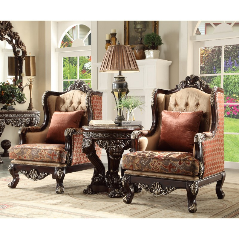 hd 111 homey design upholstery accent chair victorian european u0026 classic design