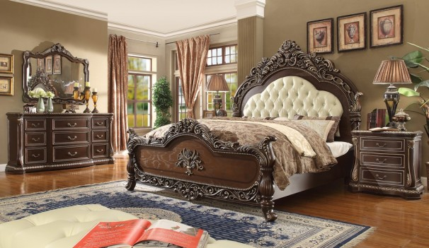 Hd 8013 Homey Design Bedroom Set Victorian European Clic