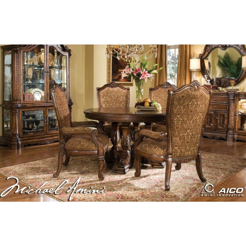 Aico Windsor Court Round Dining Table by Michael AminiWindsor Court Round Dining Table by Michael Amini. Aico Dining Chairs. Home Design Ideas