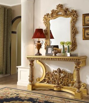 HD 8016 Homey Design Console Table Victorian, European & Classic design