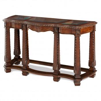 Aico Windsor Court Sofa Table VINTAGE FRUITWOOD