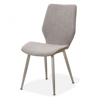 TR-HLSTD003 Aico Trance Halsted Side chair by Michael Amini