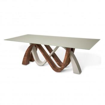 TR-RPTRE002 Aico Trance Rapture Rectangular Dining Table (2Pc)