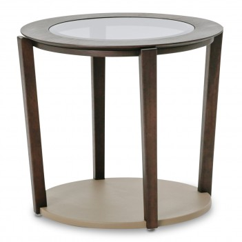 Aico 21 Cosmopolitan Taupe End Table