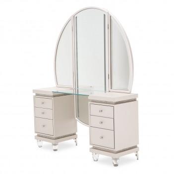 Aico Glimmering Heights Vanity & Mirror