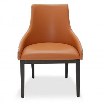 ... Aico 21 COSMOPOLITAN ORANGE Side Chair Diablo Orange