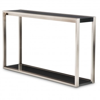 Aico Metro Lights Console Table Midnight