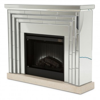 Aico Montreal Fireplace W/ Firebox Insert