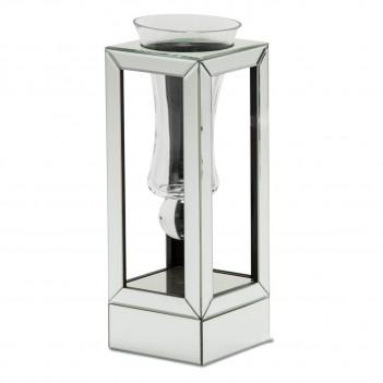 Aico Montreal Mirrored Glass Small Vase