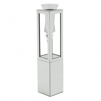 Aico Montreal Mirrored Glass Large Vase