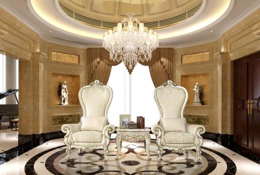 HD 02 Homey Design Accent Chair European Victorian Style