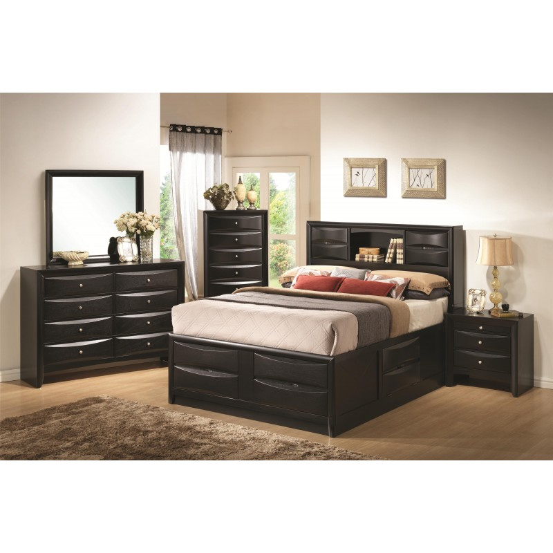 Bedroom Sets With Storage. Carlsbad Rustic Bedroom Set With ...