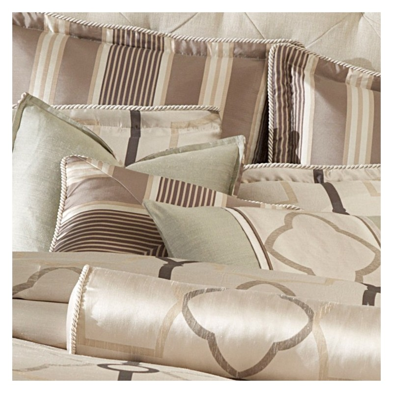 michael amini key stone court comforter bedding set by aico