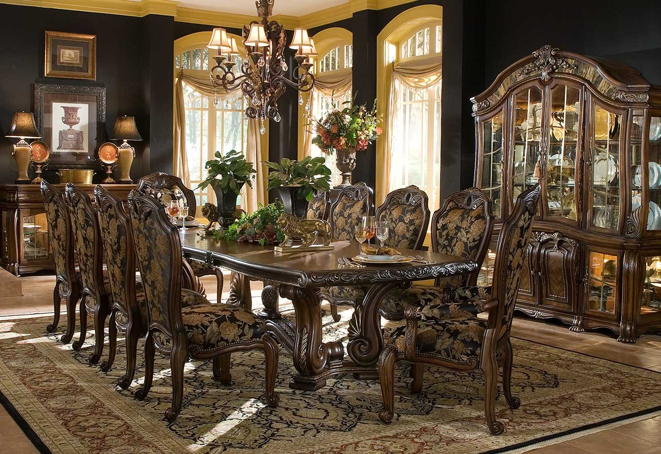 aico oppulente 67002-52 dining room collection