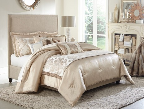 Michael Amini Palermo Comforter Bedding Set by Aico