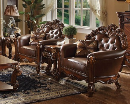 Acme 52001 Vendome Living room  Collection Cherry Finish