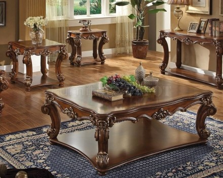 Acme 52000 Vendome Living room  Collection Cherry Finish