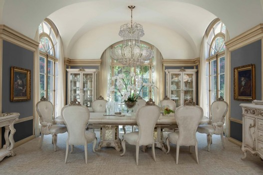 Aico Platine de Royale Dining Set CHAMPAGNE