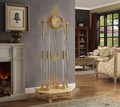 HD 8817 Victorian style floor clock by Homey Design