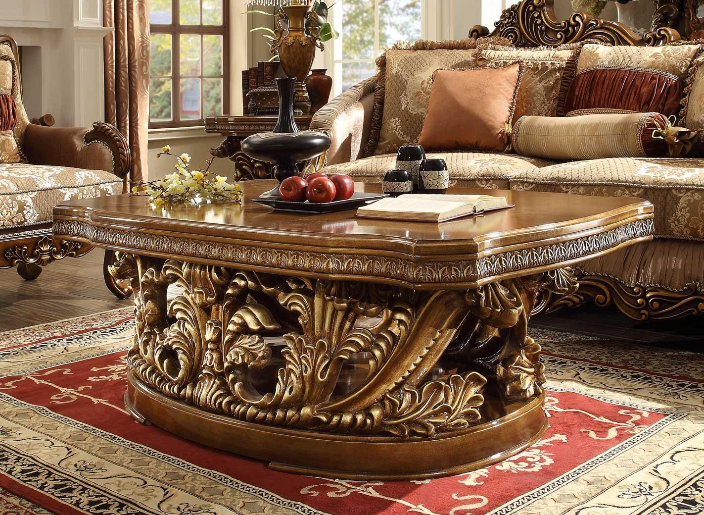 HD 8018 Homey Design Occasional Tables Victorian, European & Classic design