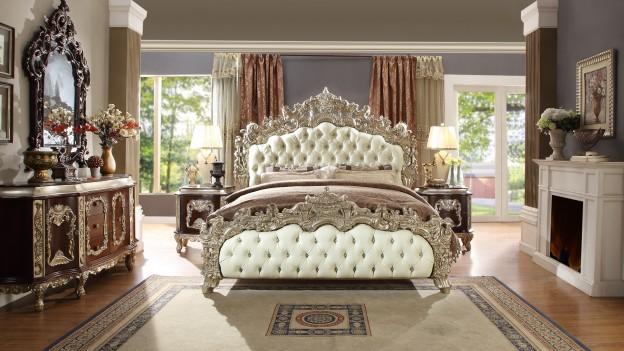 HD 8017 Homey Design Bedroom set Victorian, European & Classic design