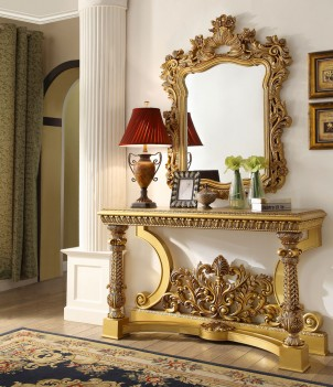 HD 8016 Homey Design Console Table Victorian, European & Classic design