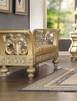 HD 8016 Homey Design Bench Victorian Style