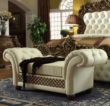 HD 8011 Homey Design Bench Victorian Style