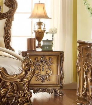 HD 8008 Homey Design Bedroom set Victorian, European & Classic