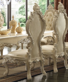 HD 13012 Ivory Dining Set Homey Design Victorian, European & Classic design
