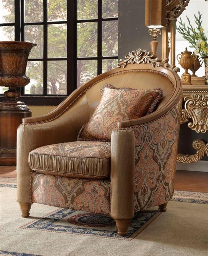 Cool Hd 622 Homey Design Accent Chair European Victorian Style Creativecarmelina Interior Chair Design Creativecarmelinacom
